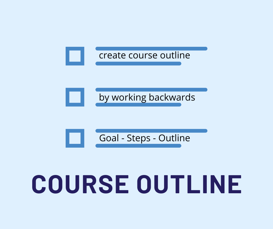 online course outline