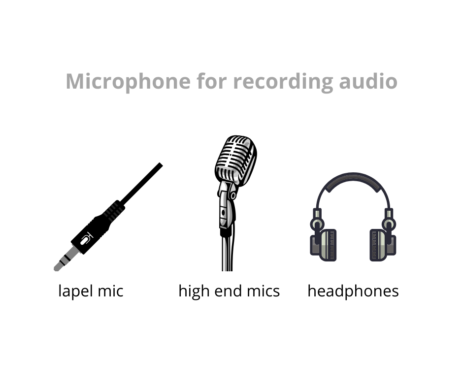microphone for online course