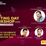 shashank as a panel member for Digital Marketing Day 2019